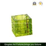 Swirl Cube Tealight Lamp Holder Afch-T6568