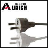 220V Power Cord Plug, 3 Core Cable 1.5mm Flexible PVC Cable, 3-Pin Male Plug Socket 220V Power Cord with E27 Lamp Socket