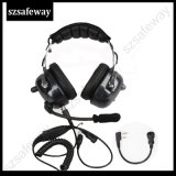 New Two Way Radio Noise Cancelling Headset for Kenwood