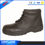 Rubber Cementing Sole Steel Bottom Men Work Safety Shoes