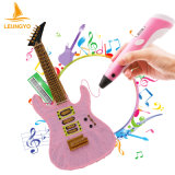 Hot 3D Printer Pen Drawing Pen with ABS Filament Arts LED Printer 3D Pen Lix for Kids