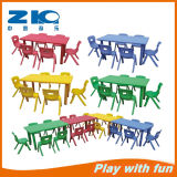 Plastic Rectangle Table for Children on Sell