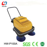 Small Hand-Push Electric Road Sweeper, Cleaning Machine