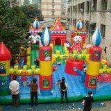 Giant Inflatable Bouncy Castles in Park (FC-035)