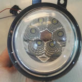 Car Part LED Fog Light LED Fog Lamp with Halo for Toyota