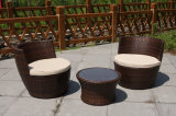 Modern Rattan Lounge Outdoor Furniture for Hotel Lobby and Villa (FS-2548+ FS-2549)