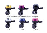 Colorful Alloy Bicycle Mini Bell with Plastic Base (HEL-212)