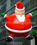 Cute Advertising Inflatable Santa Claus, Flying Santa Helium Balloon K7144