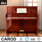 Walnut 126cm Upright Piano Musical Instrument