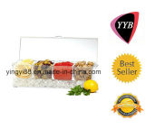 Crystal Clear Durable Acrylic Food Tray