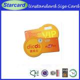 Plastic PVC Diecut Card for Goods Tag
