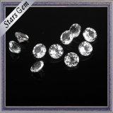 Crystal Clear White Natual Round Shining Topaz Gemstone