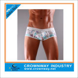 Men Printed Sexy Boxer Briefs Underwear with High Quality