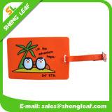 Eco-Friendly Soft PVC Rubber Luggage Tag for Travel (SLF-LT018)