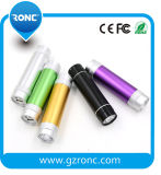 Guangzhou 3000mAh RoHS Power Bank with LED Flashlight