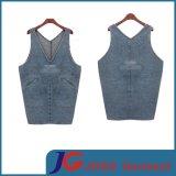 Fashion Jeans Long Vest Style Denim Skirts (JC2116)