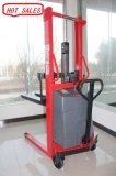 Electric Lifting Stacker with Battery