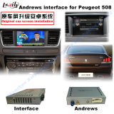 HD Car Multimedia Interface Android GPS Navigator for (13-16) Peugeot 508 Support Mirrorlink/DVD/TV