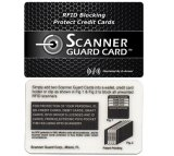 Custom Scanner Guard Card/Blocking Card with Factory Price