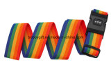 Rainbow PP Luggage Strap for Suitcase