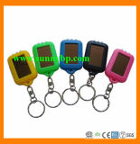 2015 China Supplier Solar Keychain Flashlight for Christmas Gift
