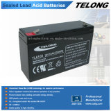 Sealed Lead Acid Battery Rechargeable Battery 6V 10ah