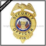 Custom Hard Enamel Metal Police Badge (BYH-10037)