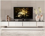 High Glossy MDF+Glass Top TV Stand &Cabinet (TV028)