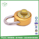 40mm Aluminum Alloy Combination Lock with Golden Cover (1504G)
