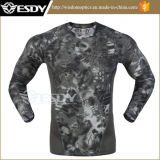 3 Colors Esdy Outdoor Tactical Camouflage Tight Speed Drying Shirts