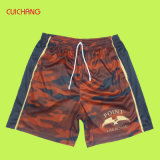Wholesale Sublimation Full Printing Men′s Casual Shorts Running Shorts Beach Shorts