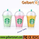 New Gadget Starbuck Portable Power Bank with RoHS