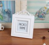 3-Inch White 3D Picture Frame for Home Decoration