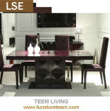 Dining Room Furniture Table with Chair of Modern Style