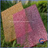 Anti-Static Eco-Friendly Waterproof Printed Stripe Embossed Polycarbonate Solid Sheet