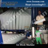 Block Ice Machine Direct Cooling