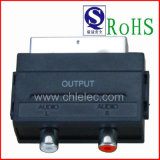 Nickel-Plated Connector Scart Plug to 2RCA Jack Output Scart Adapter
