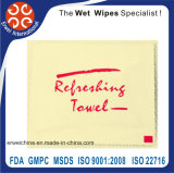 Disposable Restaurant and Hotel Wet Towels Single Pack Wipe