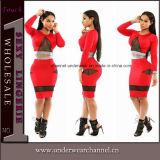 Slimming Office Cocktail Casual Fashion Party Bodycon Dress (TBLSN205-3)