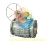 Side Entry Gear Operate API Forged Ball Valve
