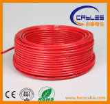 60% Coverage Coaxial Cable RG6 with Ce, RoHS Certification