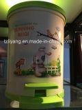 Heat Transfer Film for Cute Plastic Trash Bin