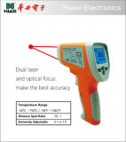 Digital LCD Non-Contact IR Infrared Thermometer 750c with Dual Laser