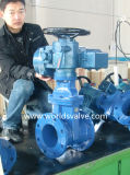 Electrical Actuated Gate Sluice Valve with ISO CE Approved (WDS)