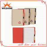 Recycled Paper Notebook with Paper Ball Pen for Promotion (EN108A)
