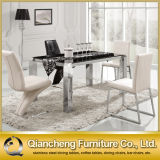 Cheap Square Marble Dining Table Set