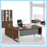 Teak Veneer Executive Offie Desk with Modern Finishing
