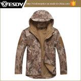 Tactical Lurker Sharkskin Softshell Outdoor Waterproof Windproof Military Jacket Coat