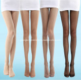 Fashion Black Brown Natural Skin Women Pantyhose Video