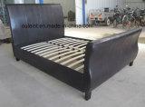 PU Platform Single Bed Bedroom Furniture (OL17166)